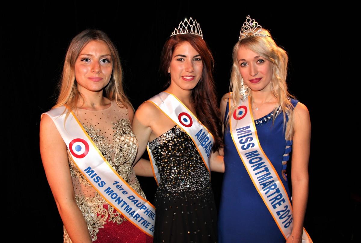 Cérémonie Miss Montmartre2018